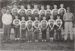 Lake Grove Coast league 1960    Second Row: Ron Tonyan, Robert Ankersmit, John Lipke, John Mass, Steve  Schneider, Davi